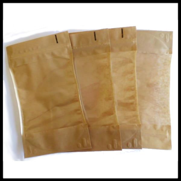 df6d37032a439 Torebki papierowe ze struną 100 g typu Doypack OKNO (100 sztuk ...